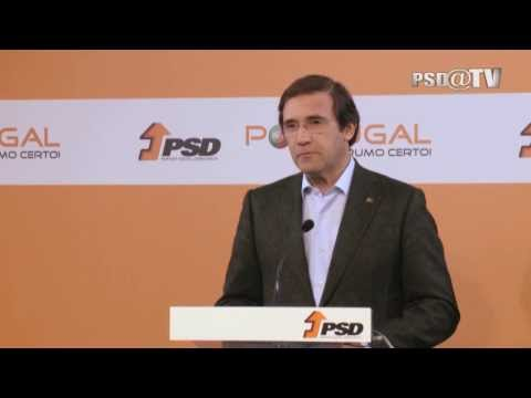 Eleições Diretas 2014 - Declaração de Pedro Passos Coelho
