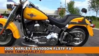 1. Used 2006 Harley Davison FLSTF FatBoy Motorcycle For Sale Price Specs