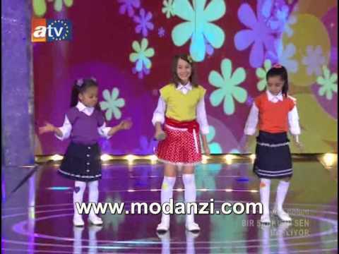 Bir Şarkısın Sen 04.08.2012 | Cici Kızlar - Delisin ( Mukaddes - Seray - Ceren ) | by Kekillici