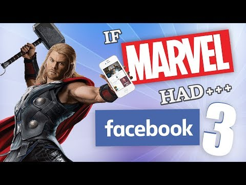 If Marvel Had Facebook 3