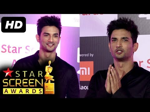 Sushant Singh Rajput At Star Screen Awards 2018 | RED CARPET