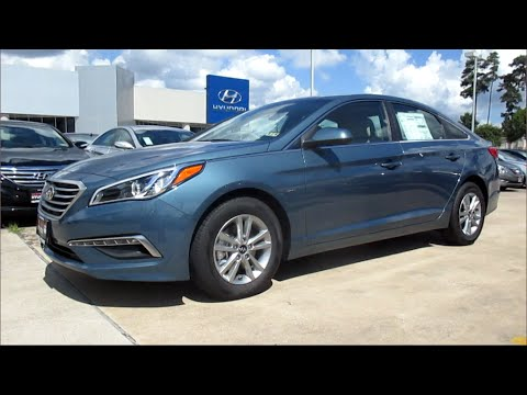 2015 Hyundai Sonata SE Full Review