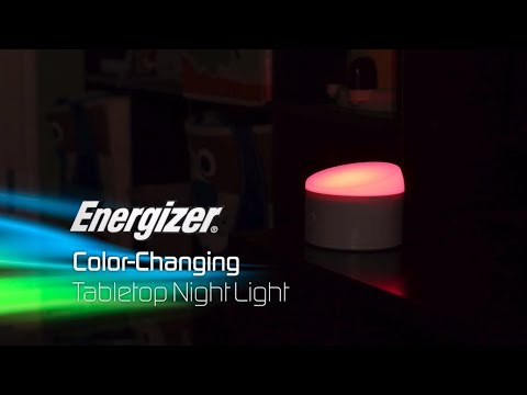 40618 - Energizer Color-Changing Tabletop Night Light