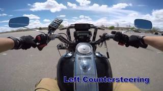 """""""Traffic Tip Tuesday"""" - Motorcycle Safety; Countersteering"""
