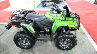 10. 2013 Arctic Cat Mud Pro 700 Recreational ATV - 2012 Salon National du Quad