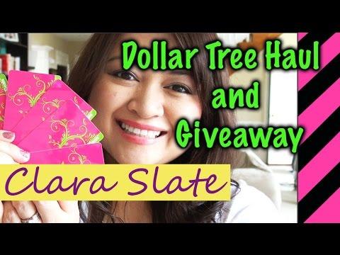 ☆♥︎ Dollar Tree Haul & Giveaway (OPEN!!!) ☆♥︎ Final Health Challenge Video