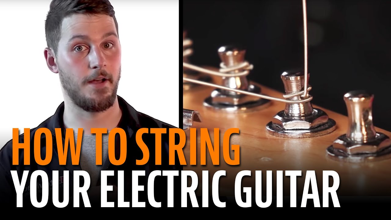 How to String an Electric Guitar