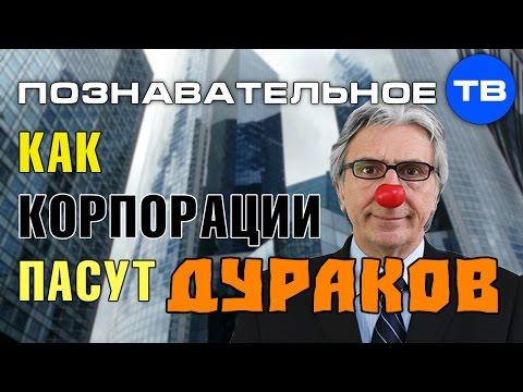 Как корпорации пасут дураков (Познавательное ТВ Валентин Катасонов) - DomaVideo.Ru