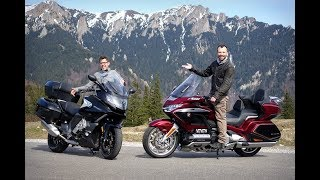 3. 2019 Honda Gold Wing vs. BMW K1600GT - The Luxury Touring Review