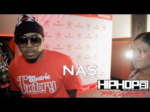 Nas Performs Live in Philly (October 2012 Footage)