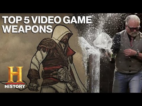 Forged in Fire: TOP 5 DEADLY VIDEO GAME WEAPONS   History