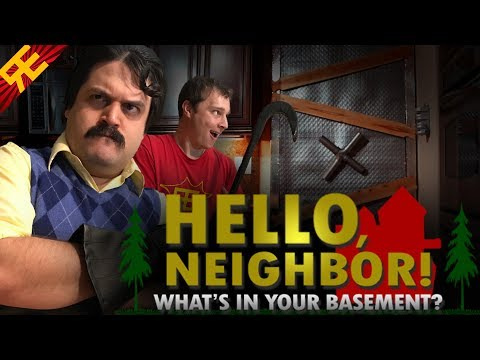 Hello Neighbor: What's In Your Basement (Musical) (видео)