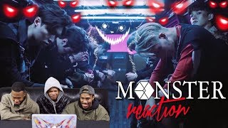 EXO 엑소 'Monster' REACTION (FIRST TIMERS)