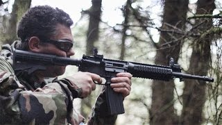 Just a quick video showing the new Tippmann M4 carbine in use at Section8. This was the first one we had ever seen on site. At the moment it is powered by ga...
