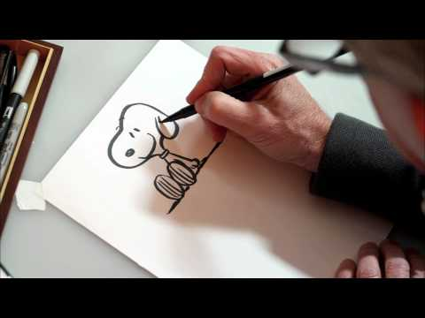 Peanuts - How to Draw Snoopy