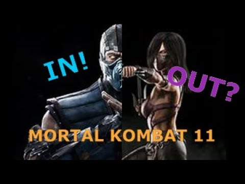 Mortal Kombat 11-Roster Predictions (WHO'S IN Vs. WHO'S OUT)