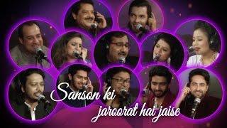 Video Saanson Ki Jarurat Hai Jaise Song | Tribute to Shri Gulshan Kumar Ji | Hungama Music | T-Series MP3, 3GP, MP4, WEBM, AVI, FLV Juli 2018