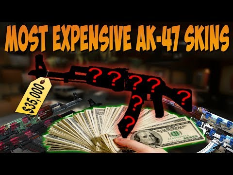 Video CS:GO - Top 5 MOST Expensive AK-47 Skins $35,000+ download in MP3, 3GP, MP4, WEBM, AVI, FLV January 2017