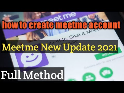 Verify account meetme How to