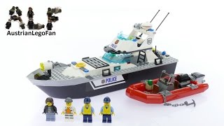 Lego City 60129 Police Patrol Boat - Lego Speed Build Review
