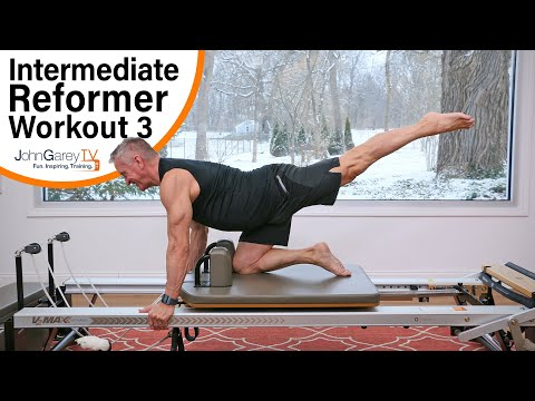 Intermediate Pilates Reformer 3