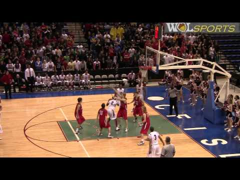 Men's Basketball Playoff Highlights: The Woodlands vs. Langham Creek, 2010