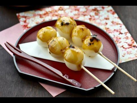 Biến tấu lạ miệng theo phong cách Nhật với cách làm bánh nếp xiên que