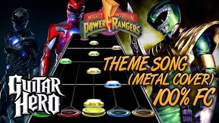 Video Power Rangers Theme (Metal Version) 100% FC -- Guitar Hero Custom Song MP3, 3GP, MP4, WEBM, AVI, FLV Desember 2017