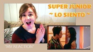 Video ::REACTION:: Super Junior 슈퍼주니어 'Lo Siento (Feat. Leslie Grace) MV MP3, 3GP, MP4, WEBM, AVI, FLV Juli 2018