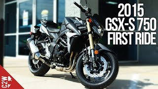 1. 2015 Suzuki GSX-S750 / GSR 750 | First Ride