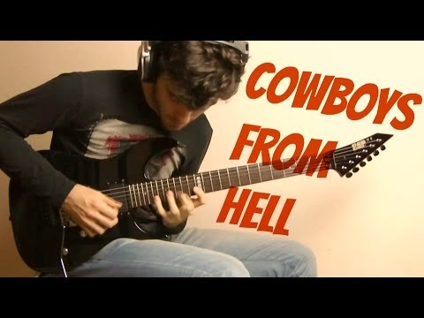 PanterA - Cowboys from Hell [solo cover] HD
