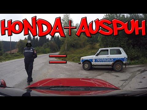 HONDA + AUSPUH = POLICIJA :) :) :)