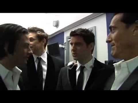 Il Divo - BBC Radio 2 (Behind the scenes)