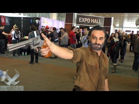 RICK GRIMES! Walking Dead Cosplay at PAX East 2015