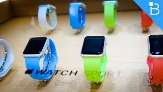 Apple Watch Hands-On! (Sport Model)