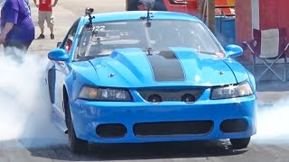 TWIN 88mm Turbo Big Block Chevy Powered MUSTANG! by 1320Video