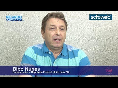 Comunicação e Política - O comunicador e deputado federal eleito Bibo Nunes no Programa Ricardo Orlandini.net, agora contando sua trajetória na política.