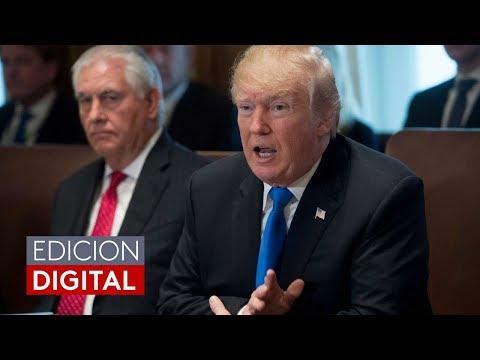 Trump despide al secretario de Estado, Rex Tillerson, y anuncia a Mike Pompeo como reemplazo