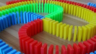 Video HUGE DOMINO SCREENLINK! (25,000 dominoes!) MP3, 3GP, MP4, WEBM, AVI, FLV November 2018