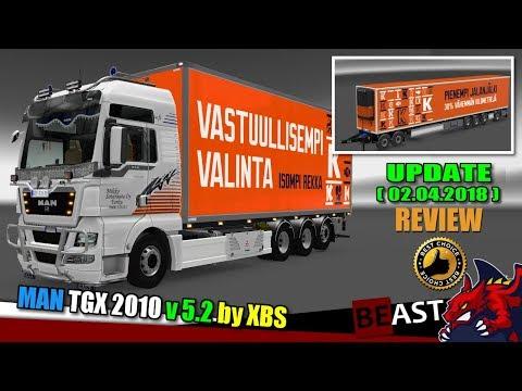 MAN TGX 2010 v5.2 by XBS