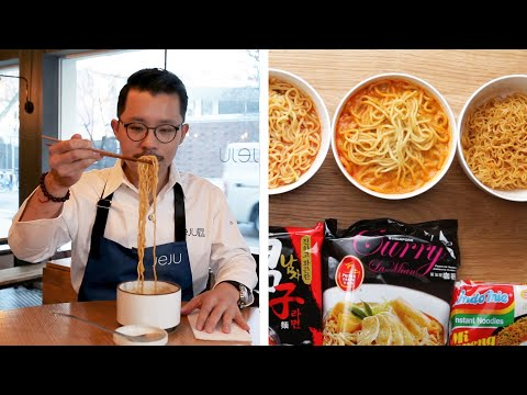 Ramen Chef Reviews Instant Ramen