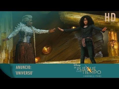 """Un Pliegue en el Tiempo - Anuncio: 'Universo""""?>"""