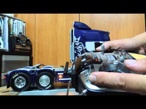 Tamiya Scania R620 + SMX + M20 + futaba T14SG-1