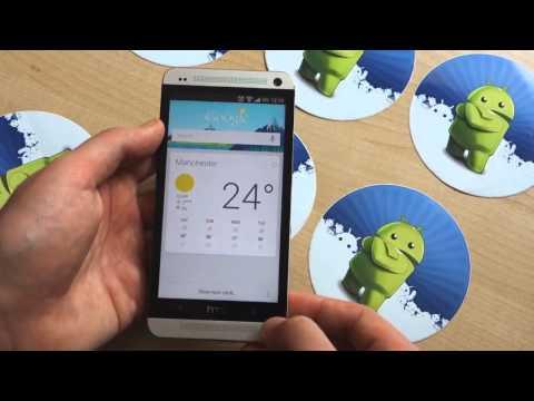 HTC One được cập nhật Android 4.2.2