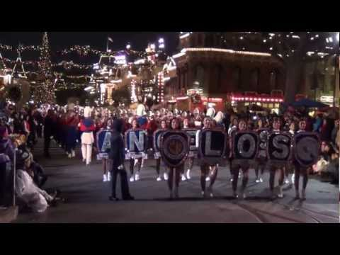 LAUSD All City Honors Marching Band at Disneyland_122912.MTS