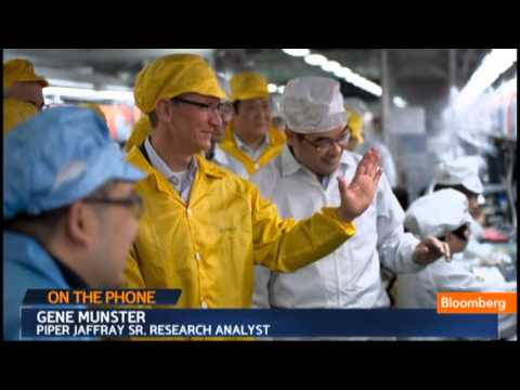 Gene Munster - April 23 (Bloomberg) -- Gene Munster, an analyst at Piper Jaffray Cos., talks about Apple Inc.'s fiscal second-quarter results, strategy in China and the com...