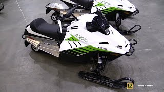 10. 2018 Arctic Cat ZR 120 Youth Sled - Walkaround - 2017 Toronto Snowmobile ATV Show