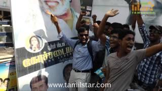 Fans Celebrates Kochadaiiyaan Release