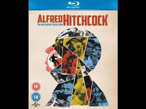 ALFRED HITCHCOCK - THE MASTERPIECE COLLECTION (Blu-ray) UNBOXING