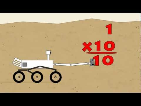 Vids4kids.tv - Mars Rover Multiplikation 1-10 mit 1